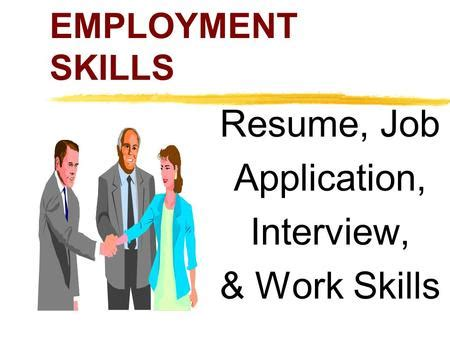 List Of The Best Skills To Put On A Resume